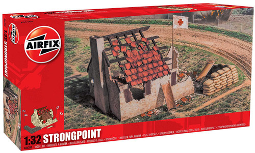 Airfix A06380 Strongpoint 1:32 Scale Model Kit