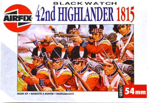 Airfix A01552 42nd Highlander 1815 1:32  Scale Model Figures