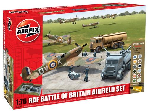 Airfix A50015 RAF Battle of Britain Airfield Set 1:72 Scale Model Kit