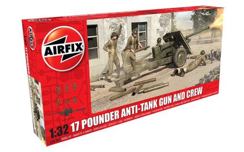 Airfix A06361 17 Pdr Anti-Tank Gun 1:32 Scale Model Kit