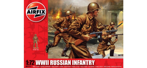 Airfix A01717 WWII Russian Infantry 1:72 Scale Model Figures