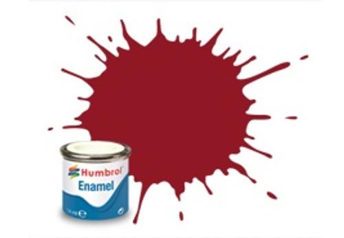 Humbrol Enamel Paint 20 Crimson Gloss 14ml