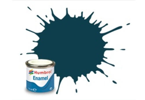 Humbrol Enamel Paint 230 PRU Blue Matt 14ml