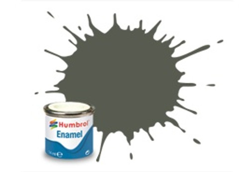 Humbrol Enamel Paint 241 RLM 70 Schwarzgrun Matt 14ml