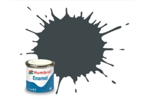 Humbrol Enamel Paint 243 RLM 72 Grun Matt 14ml