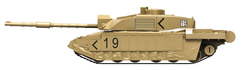 Airfix J6010 QUICKBUILD Challenger Tank - Scale Model Kit