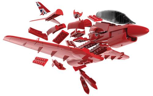 Airfix J6018 QUICKBUILD Red Arrows Hawk  - Scale Model Kit