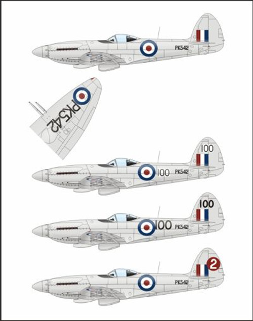 Xtrakit XK72014 Supermarine Spitfire Mk.22 1:72 Scale Model Kit