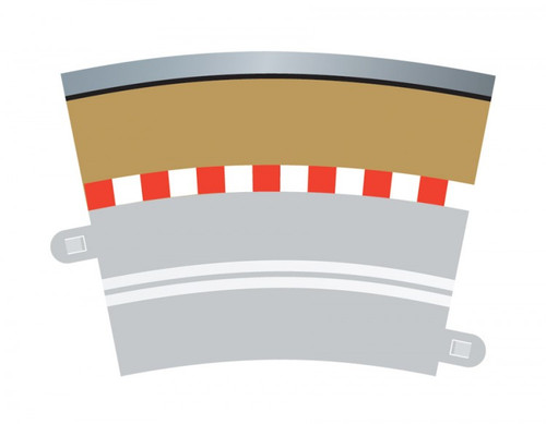 Scalextric C7019 Single Lane Curve Outer Border (4