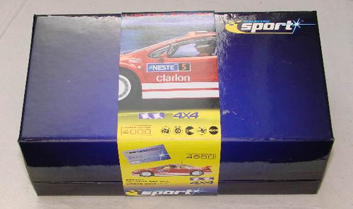 Scalextric C2560A Peugeot 307 WRC Works 2004 No 5