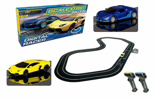 Scalextric C1327 Digital Racer Set Slot Car Race Ready Set