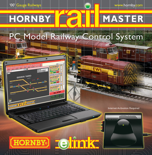 Hornby R8312 E-Link Digital + Railmaster + 1 Amp Model Railway Accessories