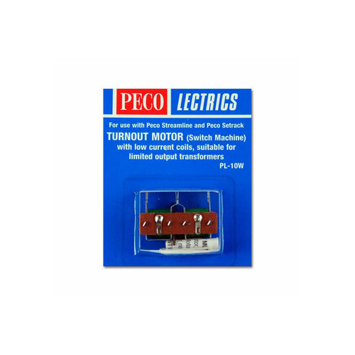 Peco PL-10W Lectrics Turnout Motor (Low Amps) from
