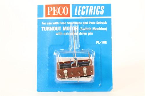Peco PL-10E Lectrics Turnout Motor (Extended Pin)