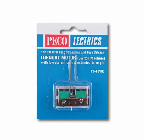 Peco PL-10WE Lectrics Turnout Motor (Low Amps/Exte