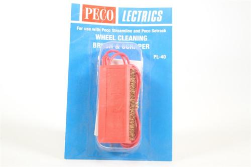 Peco PL-40 PL-40 Wheel Cleaning Brush & Scraper  M
