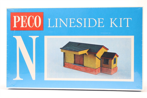 Peco NB-6 Lineside Kits Goods Shed, wooden type N