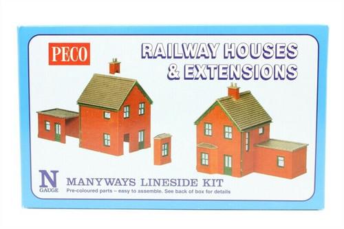 Peco NB-14 Lineside Kits Station Houses, brick type N Gauge Rail Accessories