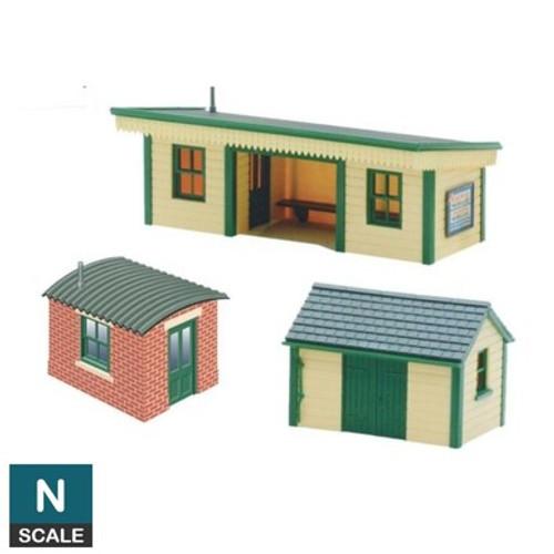Peco NB-16 Lineside Kits Platform shelter, wooden