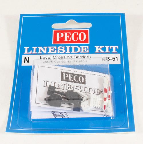 Peco NB-51 Lineside Kits Level Crossing Barriers (