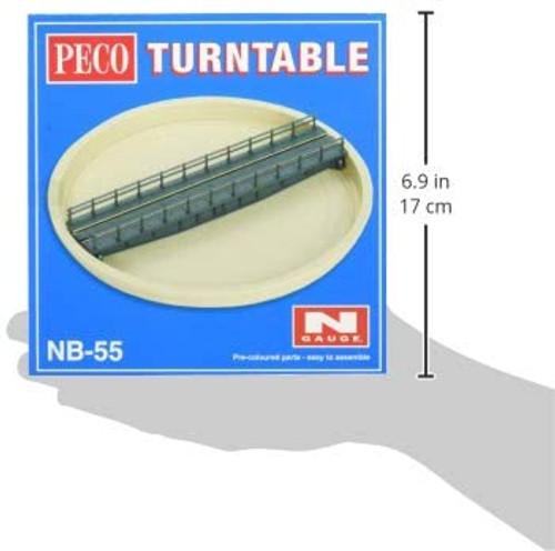 Peco NB-55 Lineside Kits Turntable Kit, well type,