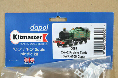 Dapol Kitmaster OO/HO C089 2-6-2t Prairie Great Western  6100 Class Model Railway Accessories