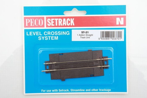 Peco ST-21 Track Accessories Straight Track Addon