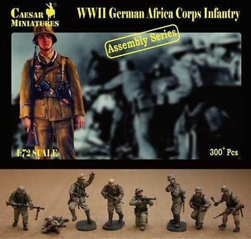 Caesar Miniatures 7713 WWII German Africa Corps In