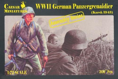 Caesar Miniatures 7715 WWII German Panzergrenadier 1:72 Scale Figures