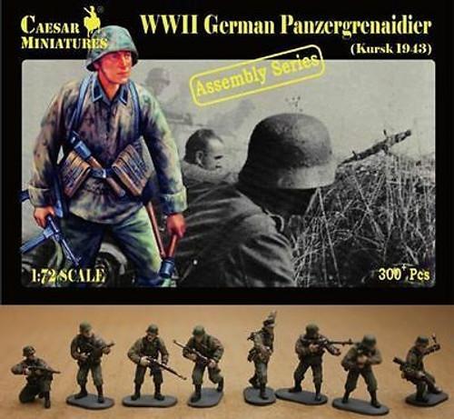 Caesar Miniatures 7715 WWII German Panzergrenadier