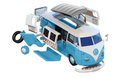 Airfix J6024 QuickBuild Volkswagen Camper Van