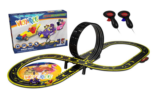 Scalextric G1142M Wacky Races Micro Scalextric Set 1:64 Scale
