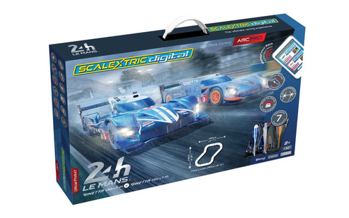 Scalextric C1404M ARC PRO 24h LeMans Set 1:32 Scale