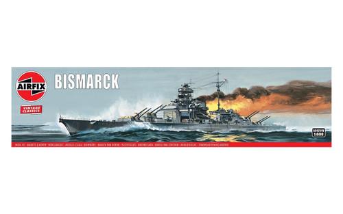 Airfix A04204V Airfix Vintage Classics - Bismarck 1:600 Scale