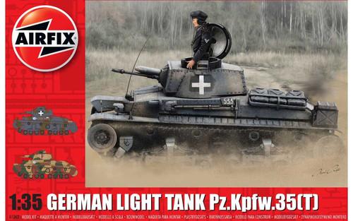 Airfix A1362 German Light Tank Pz.Kpfw.35(t) 1:35 Scale