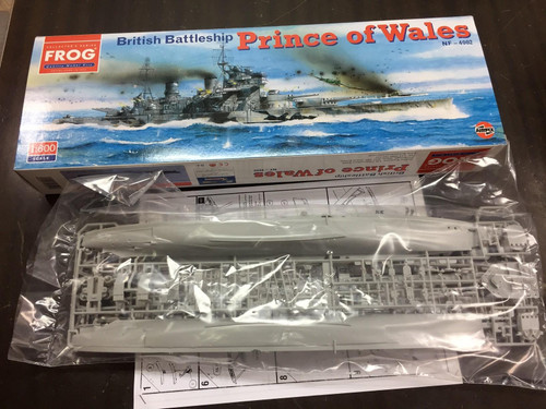 Frog NF-4002 1:600 HMS Prince of Wales Kit 1:600