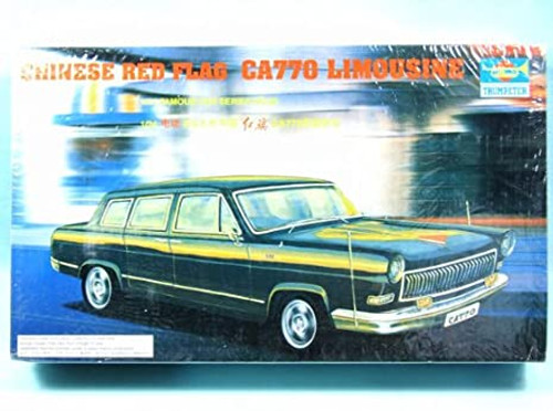 Trumpeter 03802 Red Flag CA770 Limousine 1/24 Scale