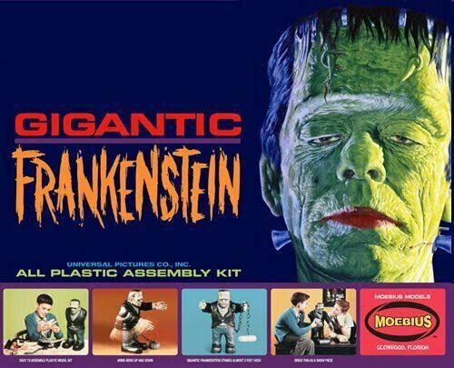 Moebius 470 Gigantic Frankenstein Figure