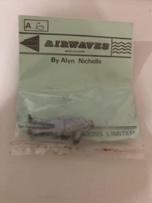 Airwaves 1:48 Soldier White Metal Figure Kit #A6 Unassembled Unpainted Model Kit