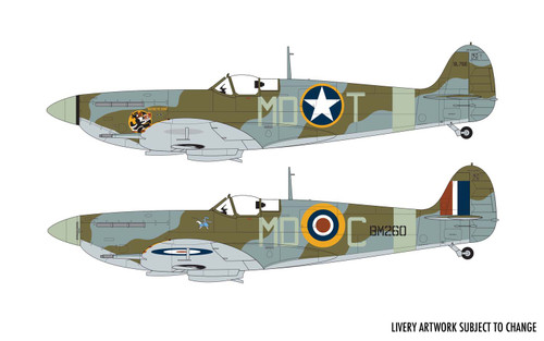 Airfix A05125A Supermarine Spitfire MkVb 1:48 Scale Model Kit