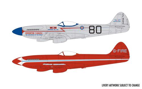 Airfix A05139 Supermarine Spitfire MkXIV Race Schemes 1:48 Scale