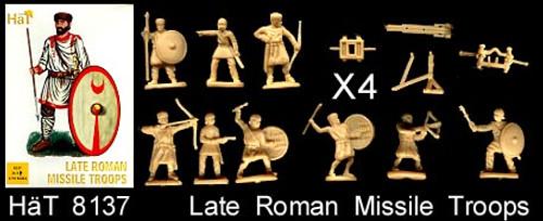 HaT 8137 Late Roman Missile Troops 1:72 Scale Figu