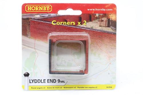 Hornby N8745 Lyddle End 9mil Corners x 2 N gauge
