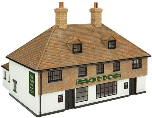 Oxford Structure OS76T002 1:76 The Bush Inn freehouse