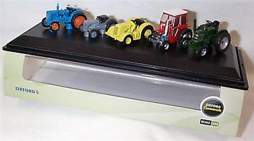 Oxford 76SET33 5 piece tractor set Ford / Ferg / DB / Messey / Field M