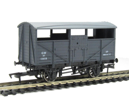 Dapol OO gauge B500A Cattle Wagon GWR authentic 1:76 scale model