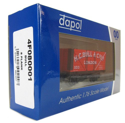 Dapol OO gauge 4F080001 Bull 9 plank authentic 1:76 scale model
