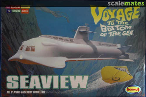 """Moebius 707 1:128 Voyage to the bottom of the sea 39"""" Seaview"""