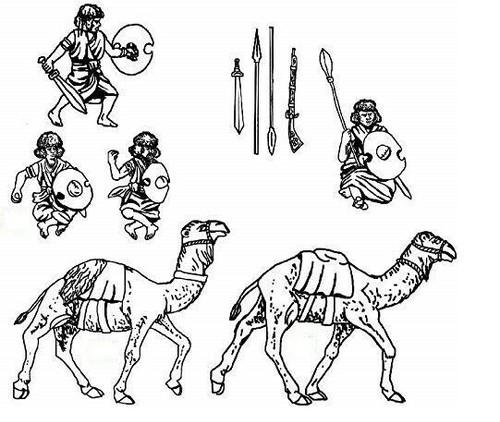 Hat 1:72 8208 Hadendowa Camelry