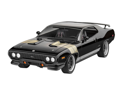 Revell 1:24 Fast & Furious Dominic's 71 {;ymouth GTX car